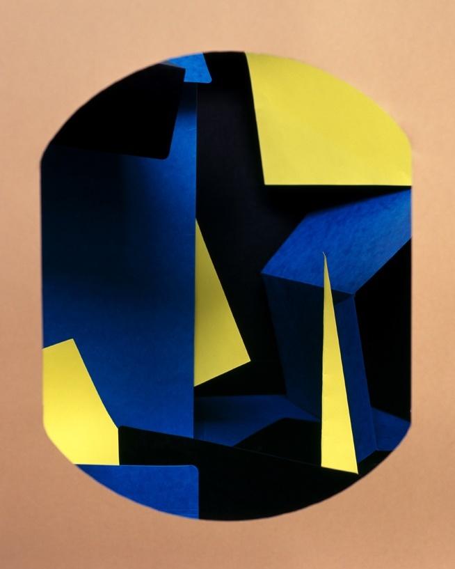 Gabarit#1 (nach Carmen Herrera) / 2011 c-print / 70x58 cm Courtesy Galerie koal / Berlin