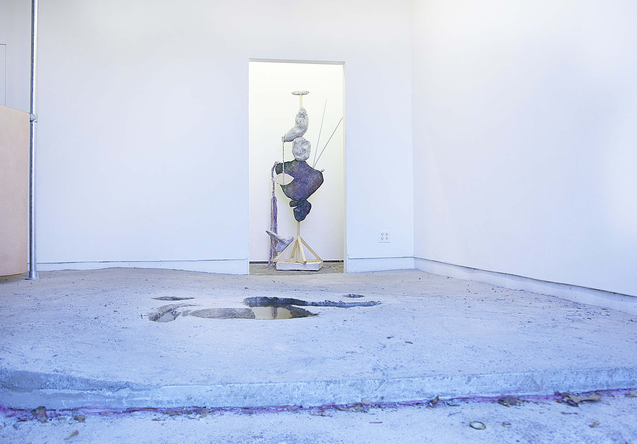Installation view, Permanent Construction, Open Source Gallery, 2016. Photo by Barbara Nilsen.