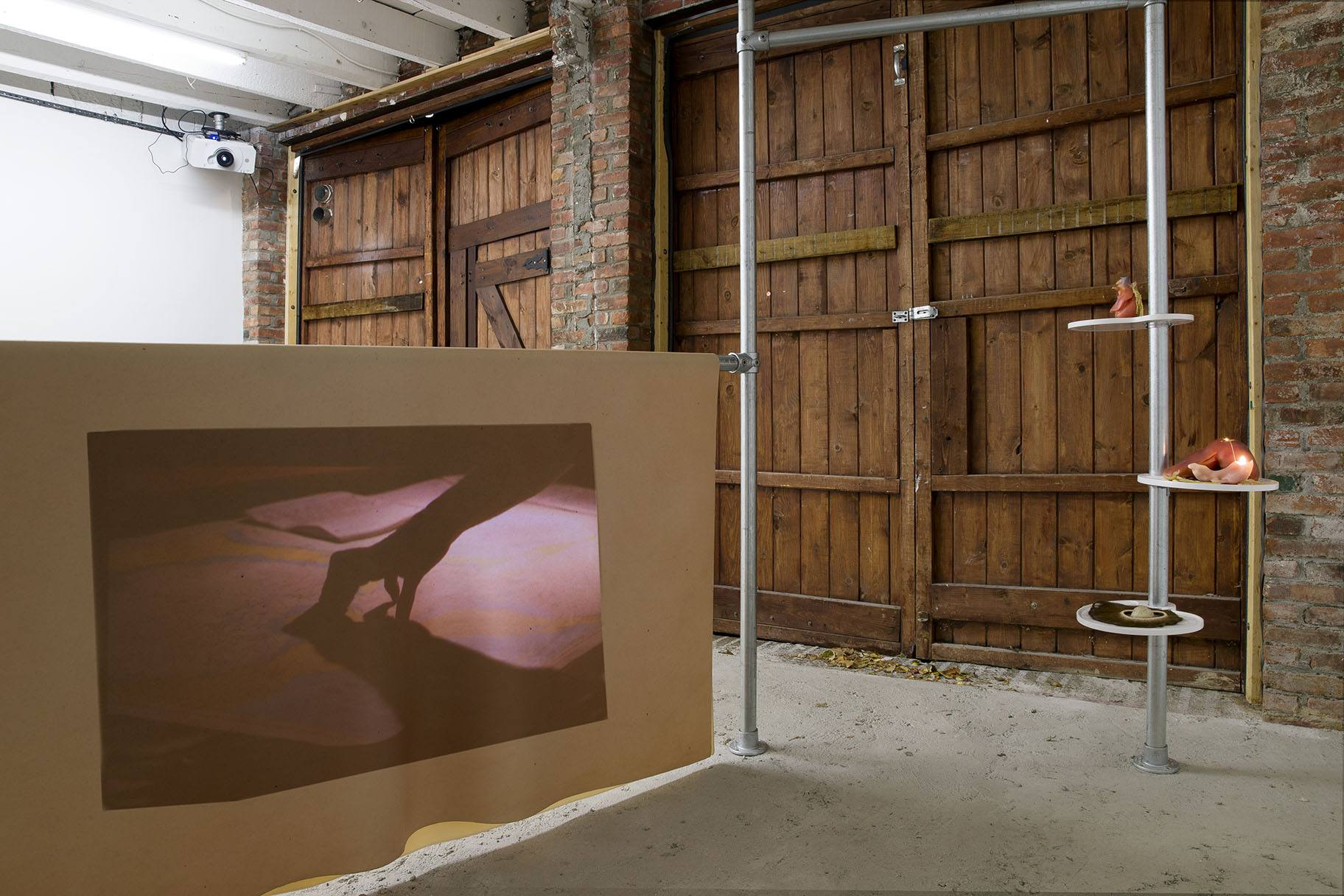 Melodie Mousset - Installation view. Photo by Guillaume Ziccarelli